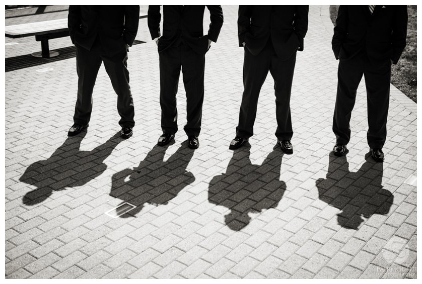groomsmen shadows