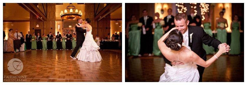 Wedding reception at Bear Creek mountain Resort