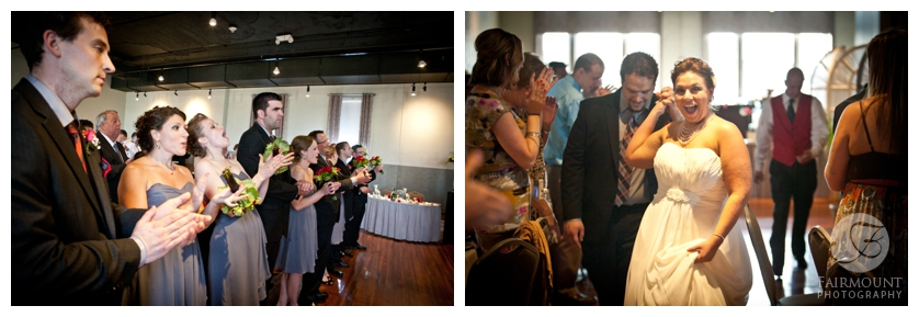 wedding reception at Allentown Brew Works' FIVE