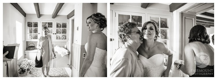 bride & grandmother