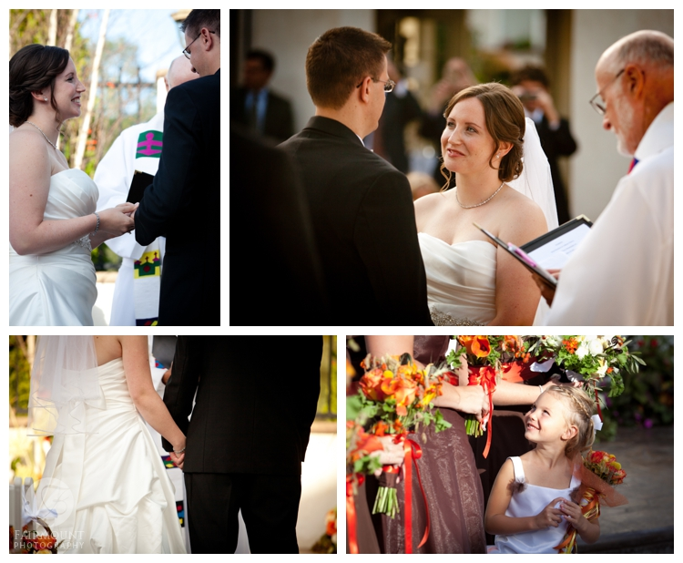 fall wedding at Mendenhall Inn