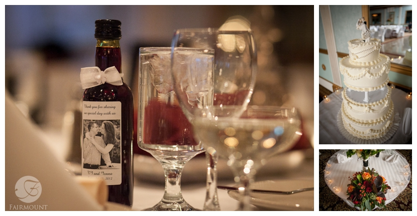 personalized wine bottle wedding favors