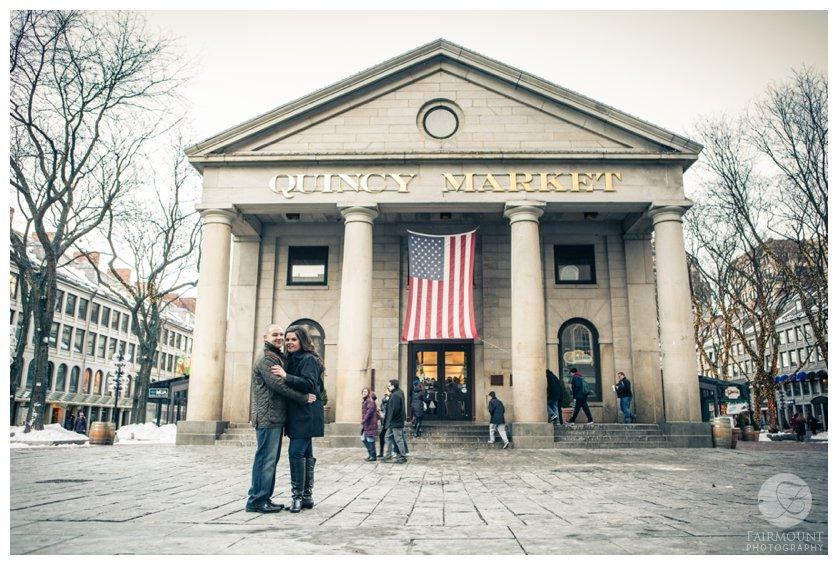 Portrait at Quincy Market