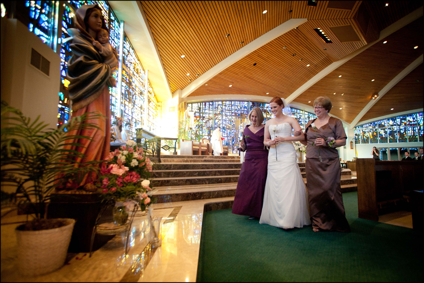 Allentown, Pennsylvania church wedding