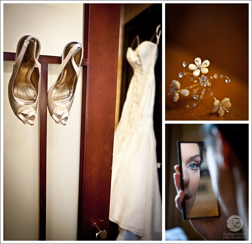 wedding details at Hotel Sofitel, Philadelphia, PA