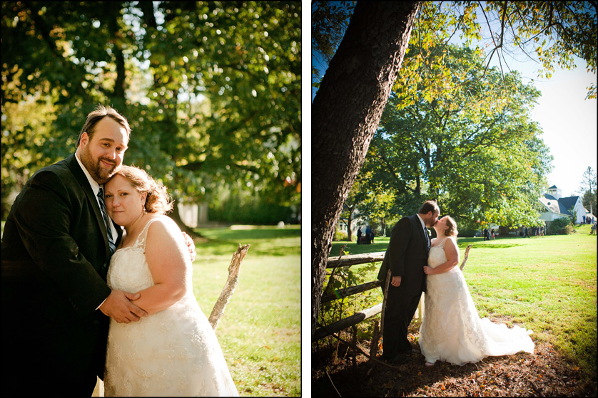 Best wedding portrait under a gorgeous tree