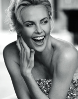 """Thanks for a great time."" – Charlize Theron -"