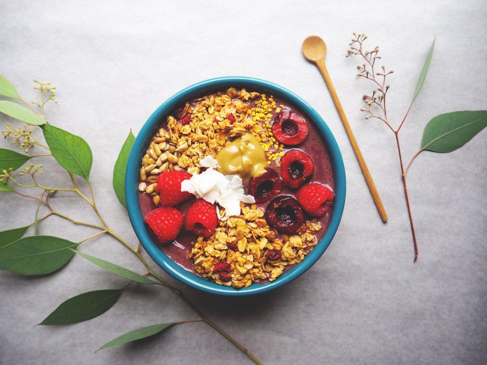 Sunflower Butter Acai Bowl