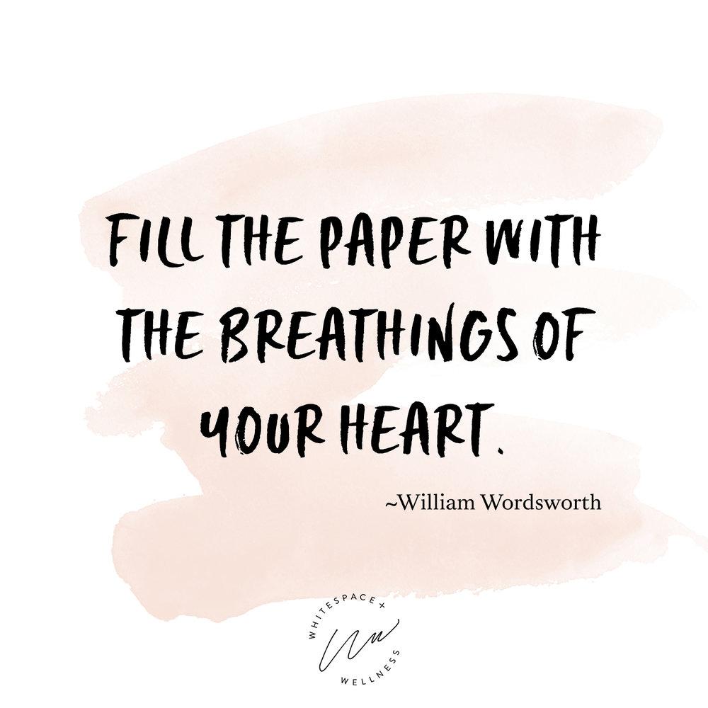Journaling Mantra