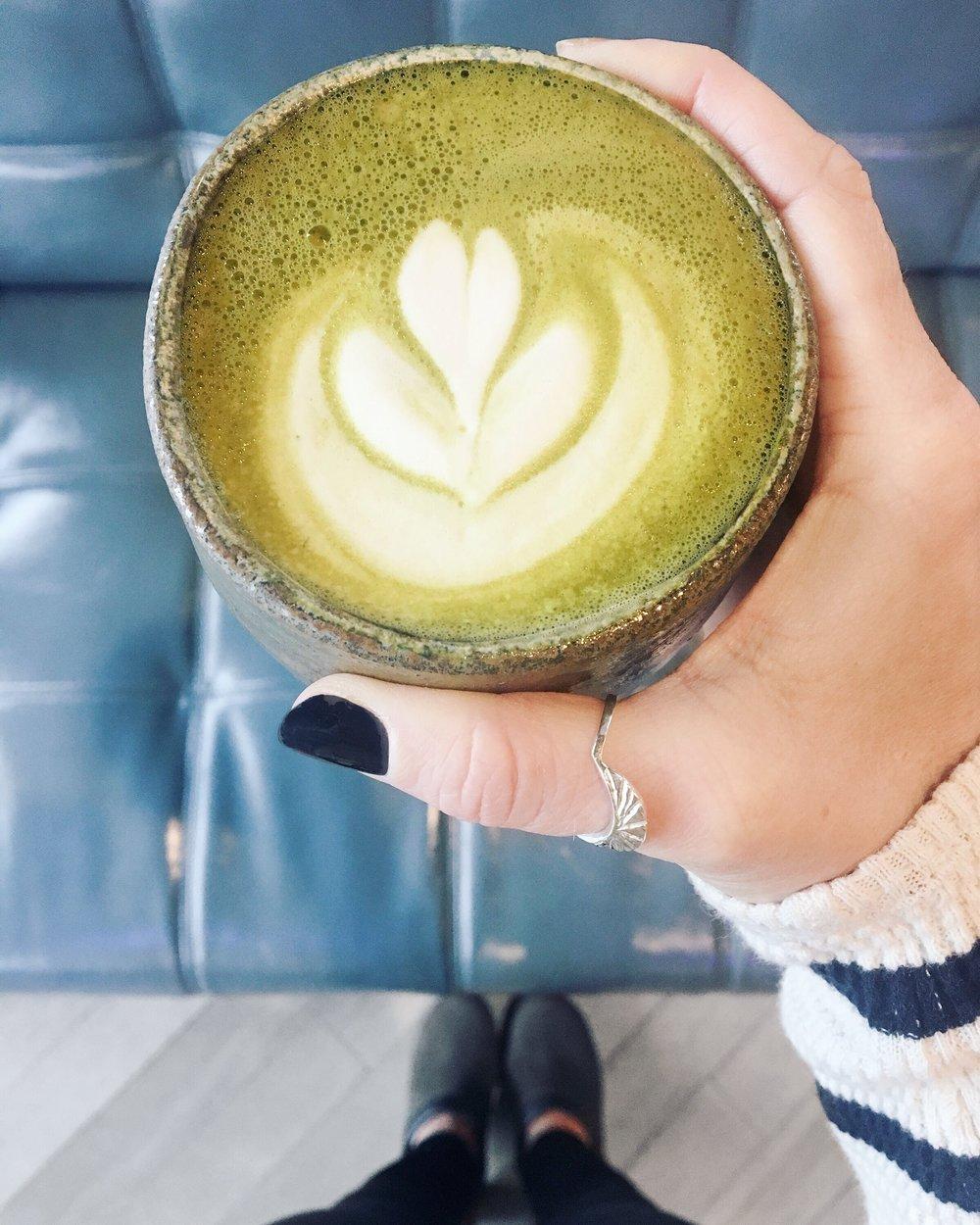 Matcha from Bearcat Cafe