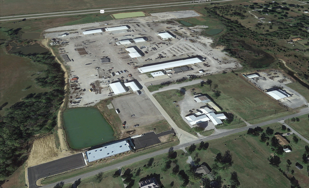 ParFab corporate's office and fabrication facilities located in Inola, Oklahoma