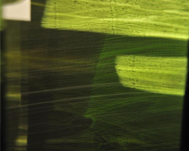 """GREEN VEIL"" (2013) by steven silverstein. © 2013 steven silverstein"