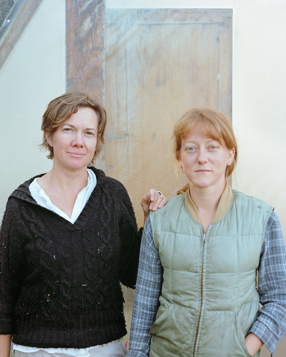 Portrait of Gwynn and Kim