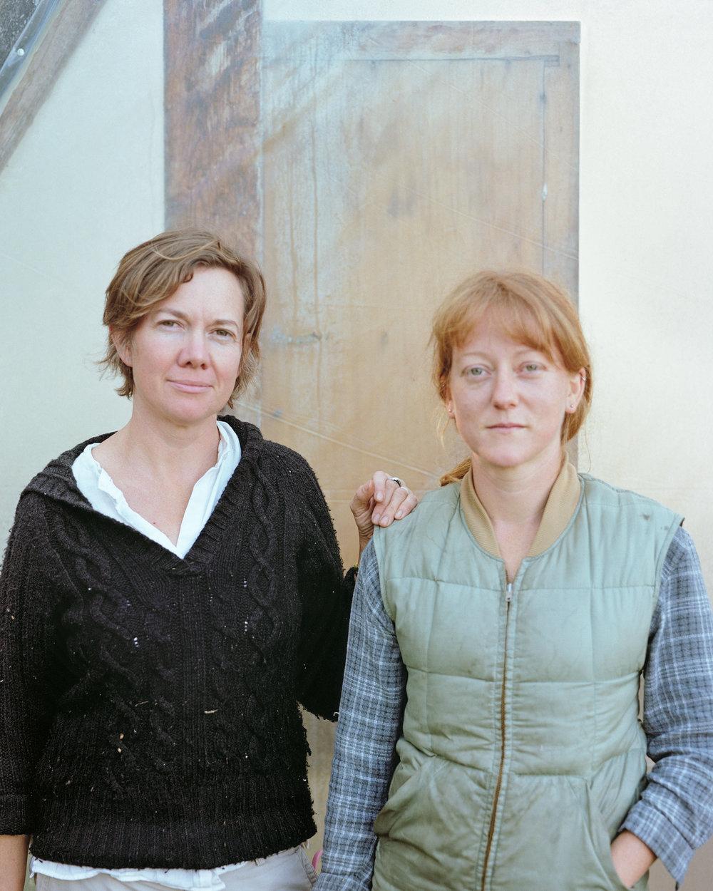 Portrait of Gwynn and Kim