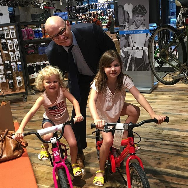 #tbt to that time that we bought our kids their first bikes and then it rained for six weeks straight. #dclife #dc #rei