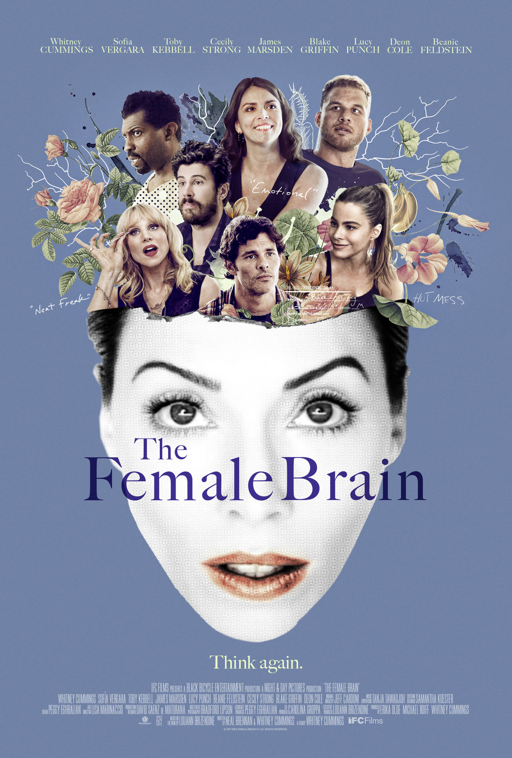 The Female Brain - Playing in select cities, SEE BELOW