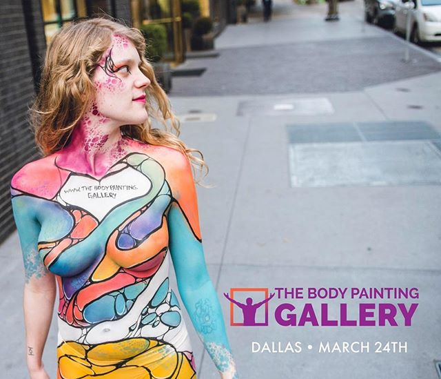 Sorry we've been so quiet lately, we have been working on some really cool projects like this one! We are excited to be sponsoring @thebodypainting.gallery in Dallas! We love being able to support artists and show people how beautiful this art form can be! This is a non competitive body painting gallery where guests will be able to see live painted bodies on platforms in a museum style setting! It will be on March 24th, doors open at 7. Go check it out! There will be a live band, drinks, food, and lots of beautiful body art!  Some AMAZING artists will be coming including Pashur House, Madelyn Greco and Scott Frey, Mandi Ilene, and more! And yes, we totally used our #dropletsponges to do this colorful body paint! • • • #bodypaintingisart #bodyart #dallasbodypainting #dallasbodypaintinggallery #thebodypaintinggallery #bodypainter #bodypainters #bodyartist #dallasartist #dallasartgallery