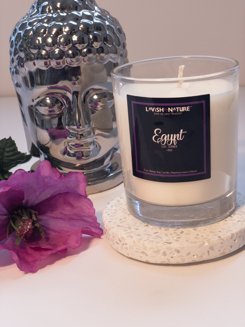 Egypt candle