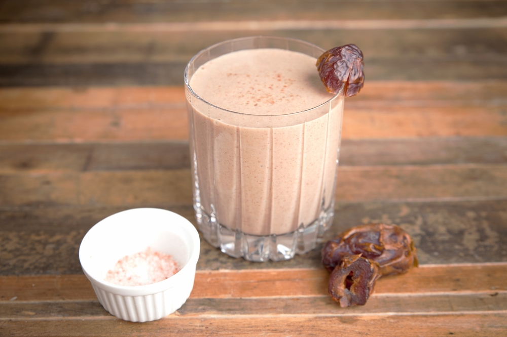 Protein Smoothie - Try any of these amazingly easy smoothie recipes by holistic nutritionist, and wellness expert, Kelly LeVeque. A great way to start off your morning!