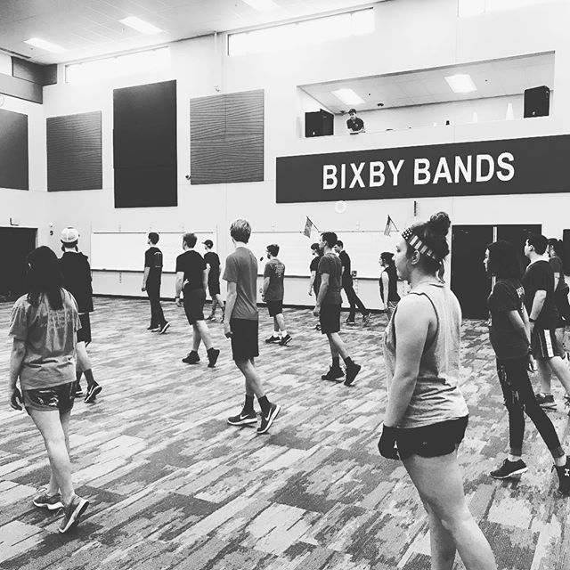Lots of new faces today at the wind and percussion audition clinic! #drumcorps #soundsport #marchingband #growdrumcorps #tulsamusic #zephyrus2019