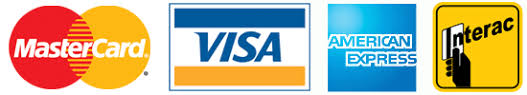 To make things easy, we accept all forms of payment!