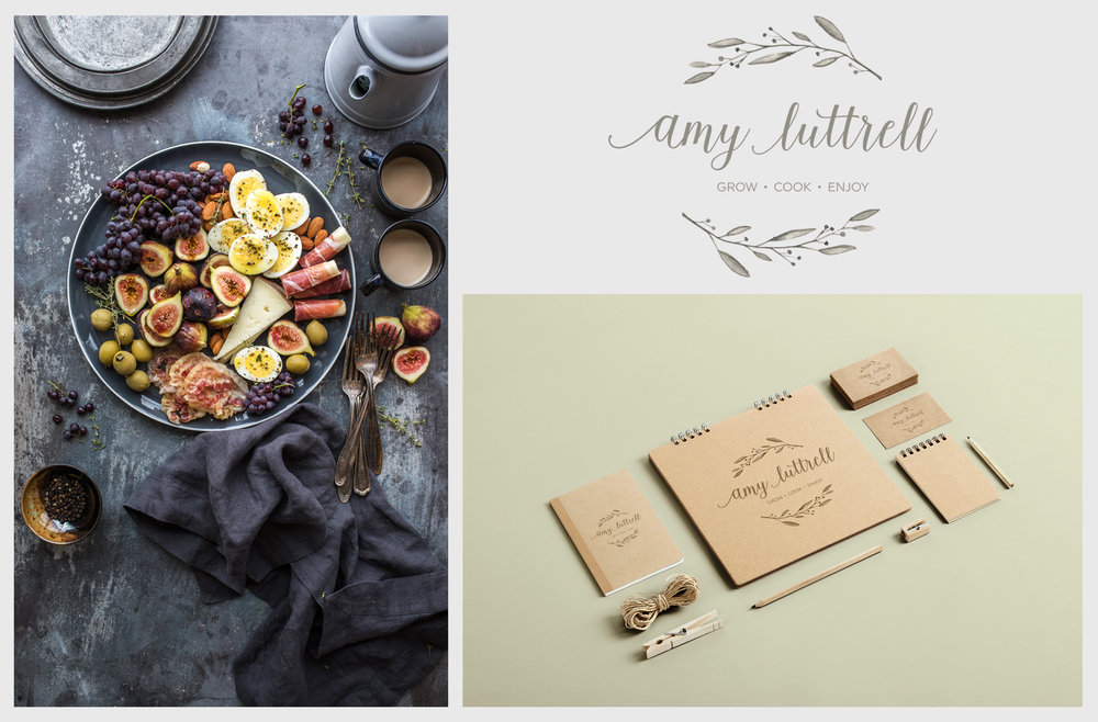 Amy Luttrell Logo Design