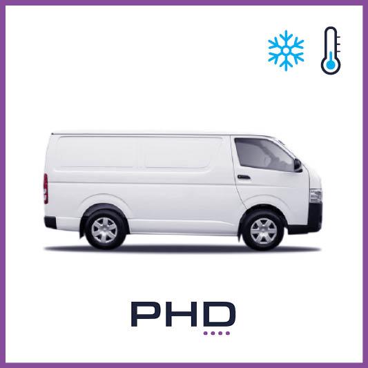 1 Tonne Van - 1 Tonne Refrigerated Van (Toyota Hiace Long Wheel Base / Hyundai iLoad)$99 (Daily rate)