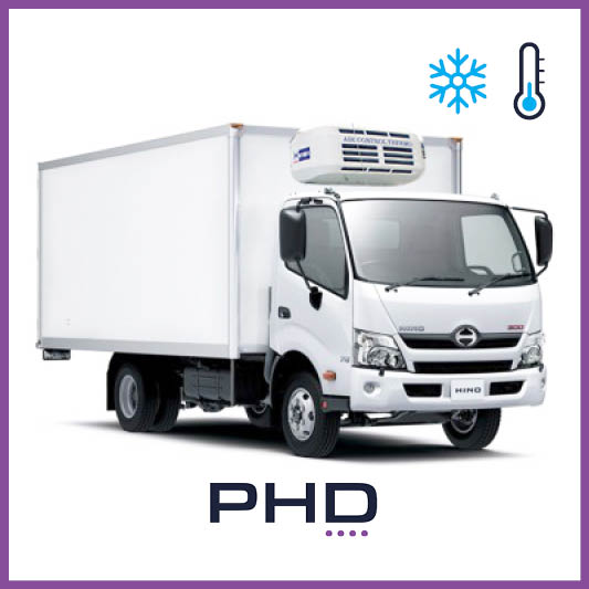 Three Tonne Truck - Three Tonne Refrigerated Truck (Isuzu / Hino / Mitsubishi Canter)$169 (Daily rate)