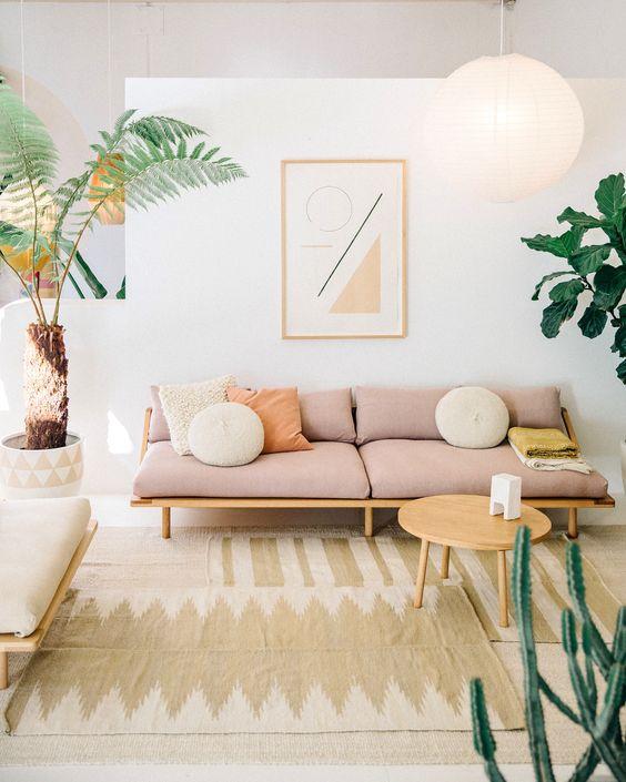La foto es de Pampa Design (un negocio australiano de alfombras y otras cosas)