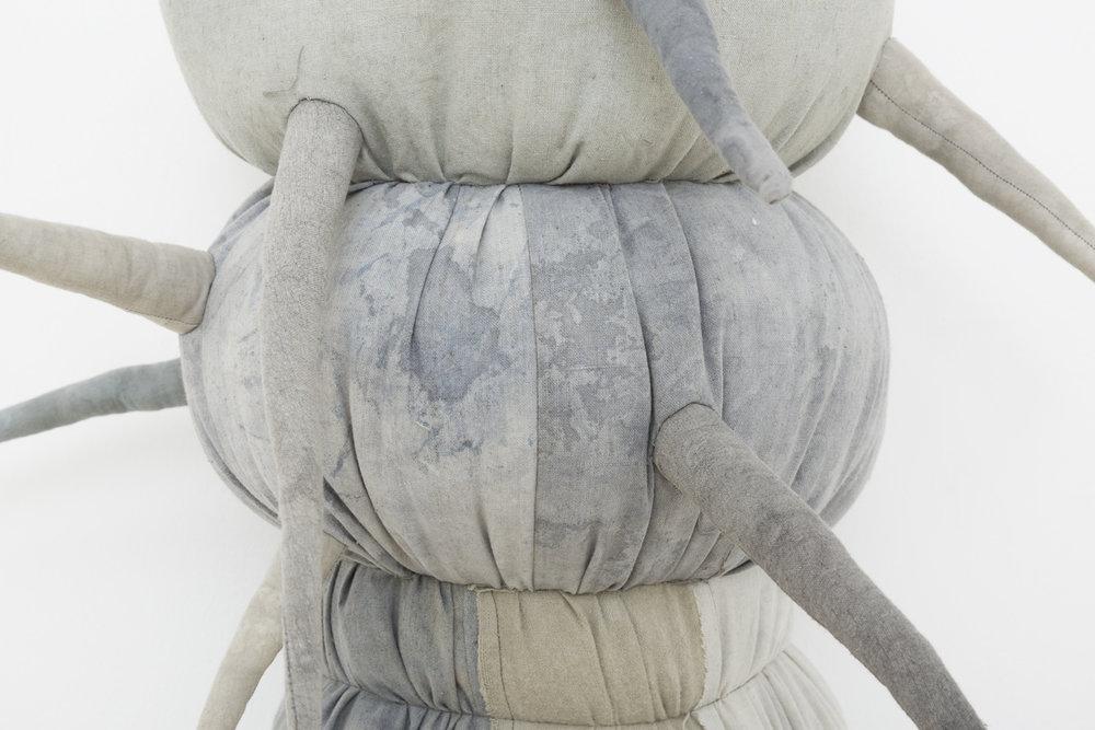 JADE PEGLER  Legged  (detail)  2016  62 × 40 × 40 cm