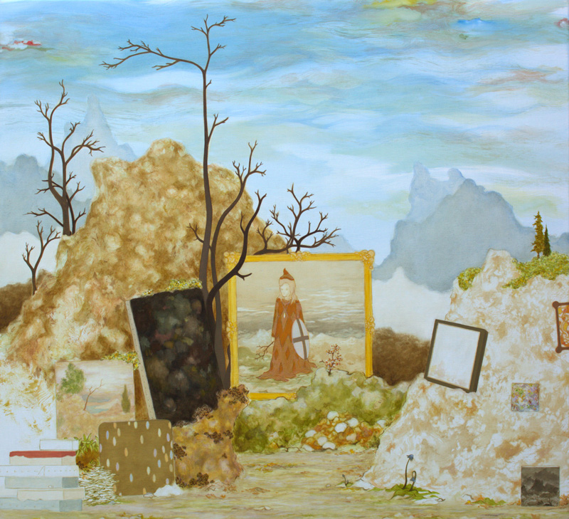 MARK RODDA  is a finalist in the John Leslie Art Prize with  Salon , oil in linen, 91 × 84 cm. Gippsland Art Gallery, 3 Sept – 20 Nov 2016