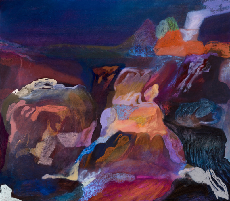 TONEE MESSIAH  is a finalist in the Paddington Art Prize with  Winter Campsite Along the Abercrombie River , oil on linen, 122 × 91 cm. 20–30 Oct 2016