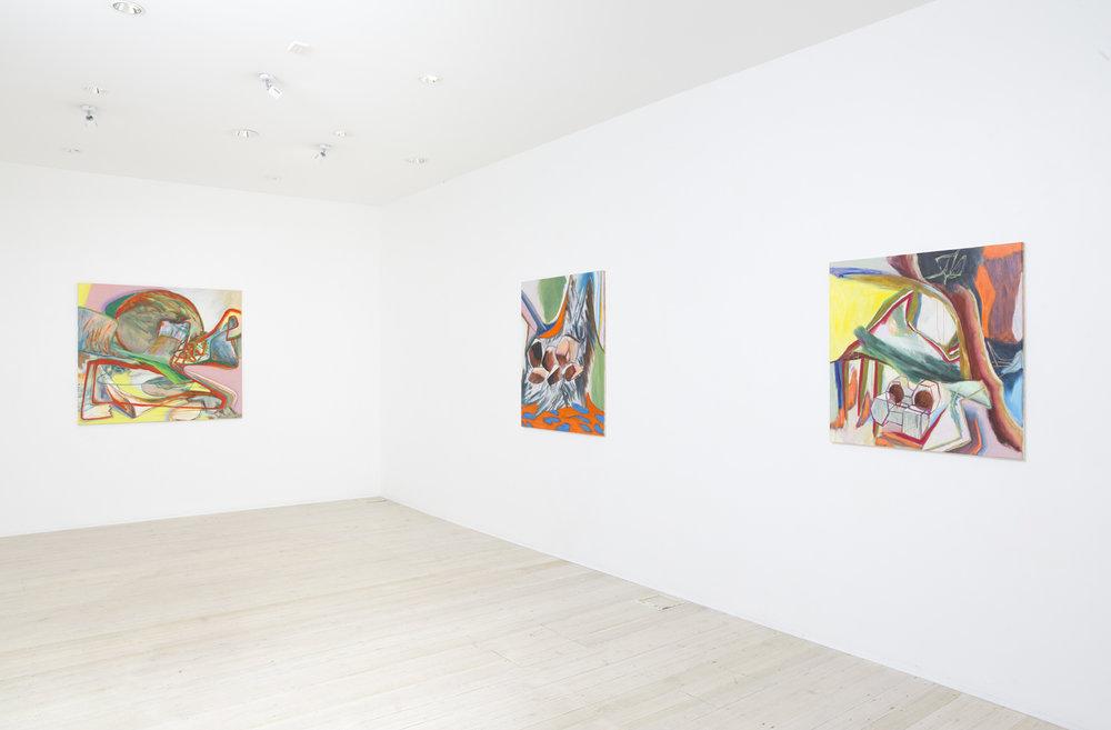 David Palliser, artist, exhibition, gallery 9