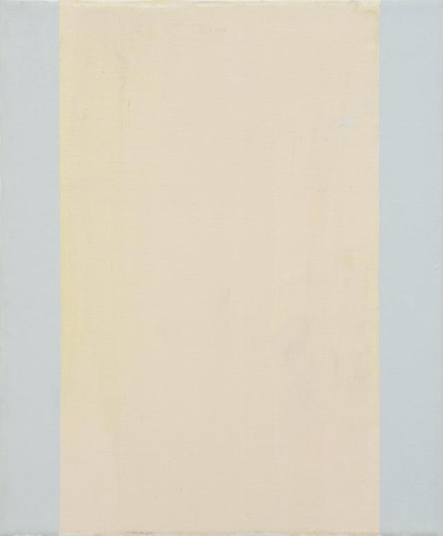 JELLE VAN DEN BERG  Cool J , 2015 oil on canvas 30.5 × 25 cm