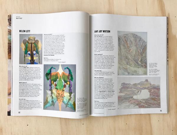 READ BELEM LETT IN ART COLLECTOR, ISSUE 78, OCT–DEC 2016