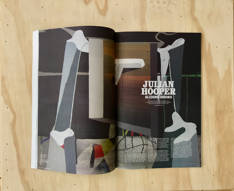 Read  JULIAN HOOPER  in  VAULT  magazine, Nov 2016