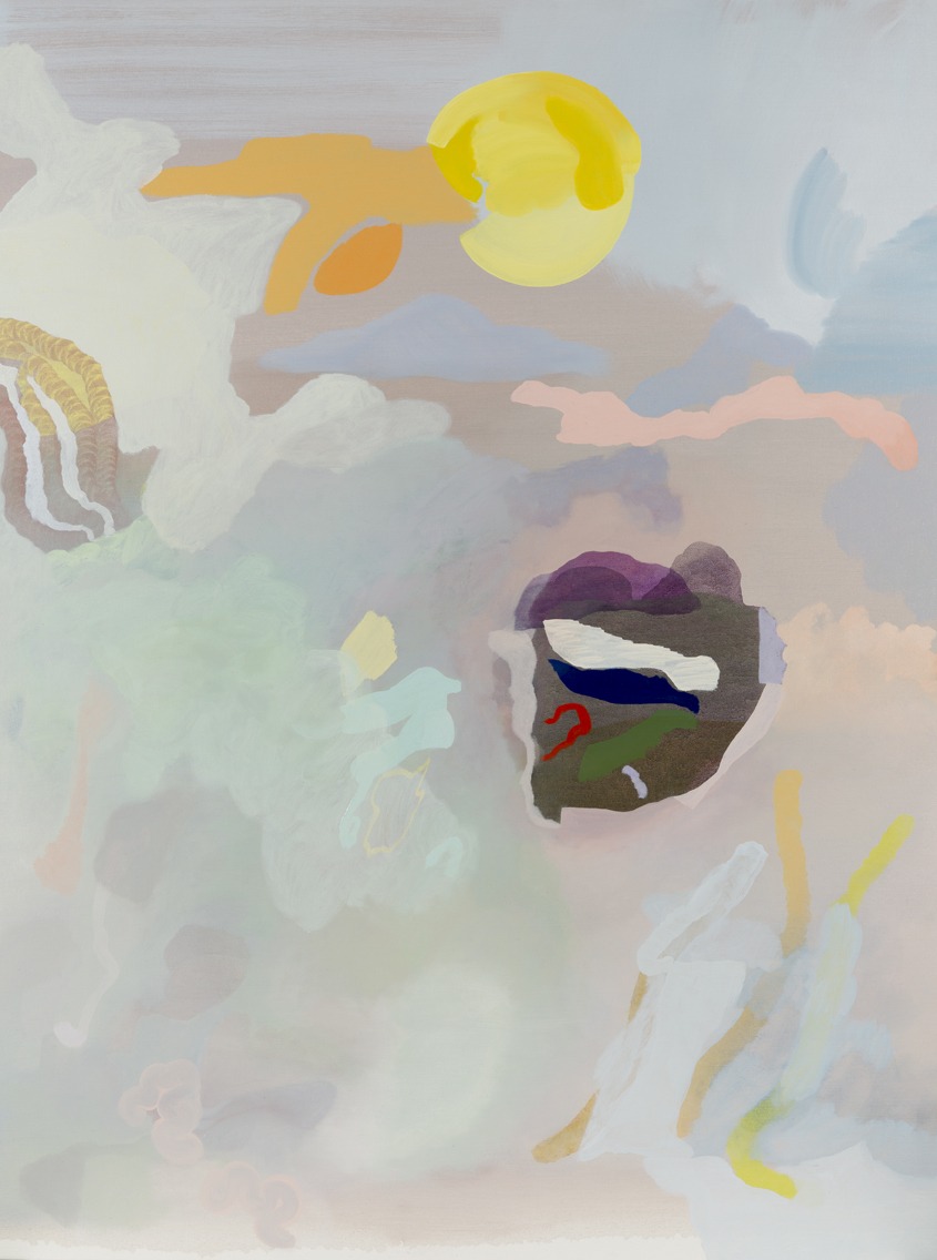 TONEE MESSIAH  Quintessential Individuals  2016 oil on canvas 122 ×91 cm