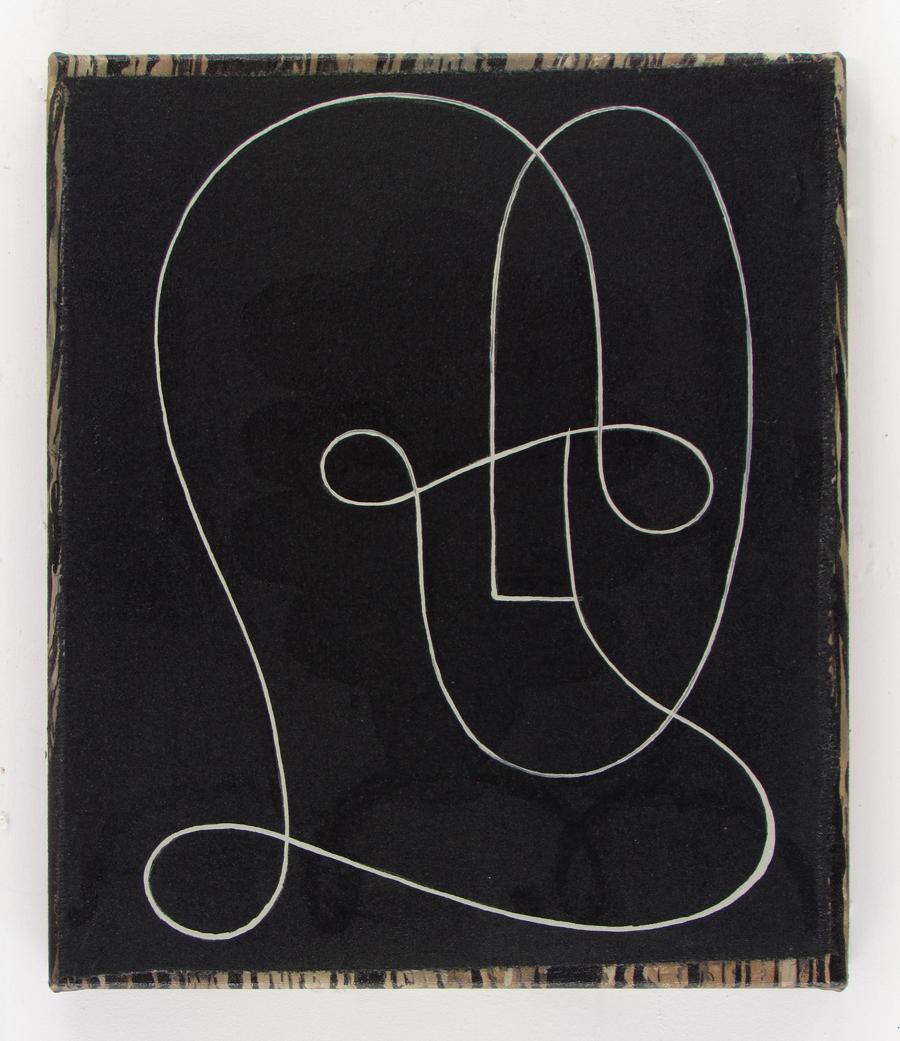 JULIAN HOOPER  Neo   acrylic on canvas 30 ×35 cm