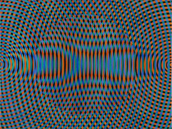 JOHN ASLANIDIS  Sonic no. 44  2015    oil and acrylic on canvas 77 × 102 cm
