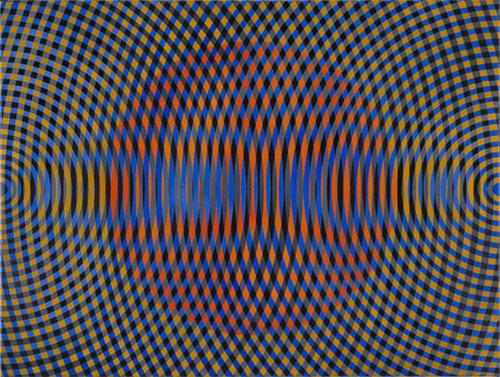JOHN ASLANIDIS  Sonic no. 47  2015 oil and acrylic on canvas 77 × 102 cm