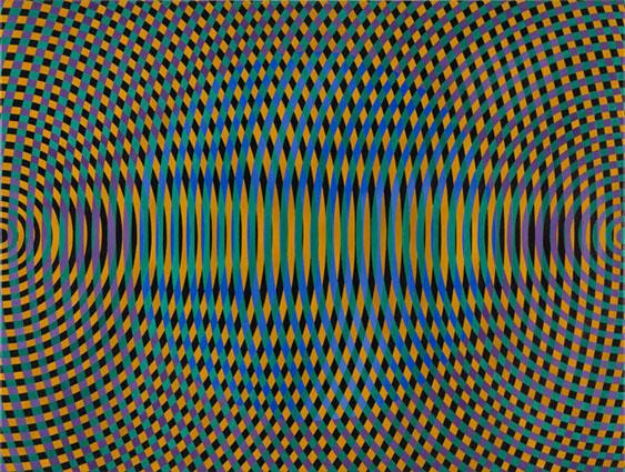 JOHN ASLANIDIS  Sonic no. 48  2015 oil and acrylic on canvas 77 × 102 cm
