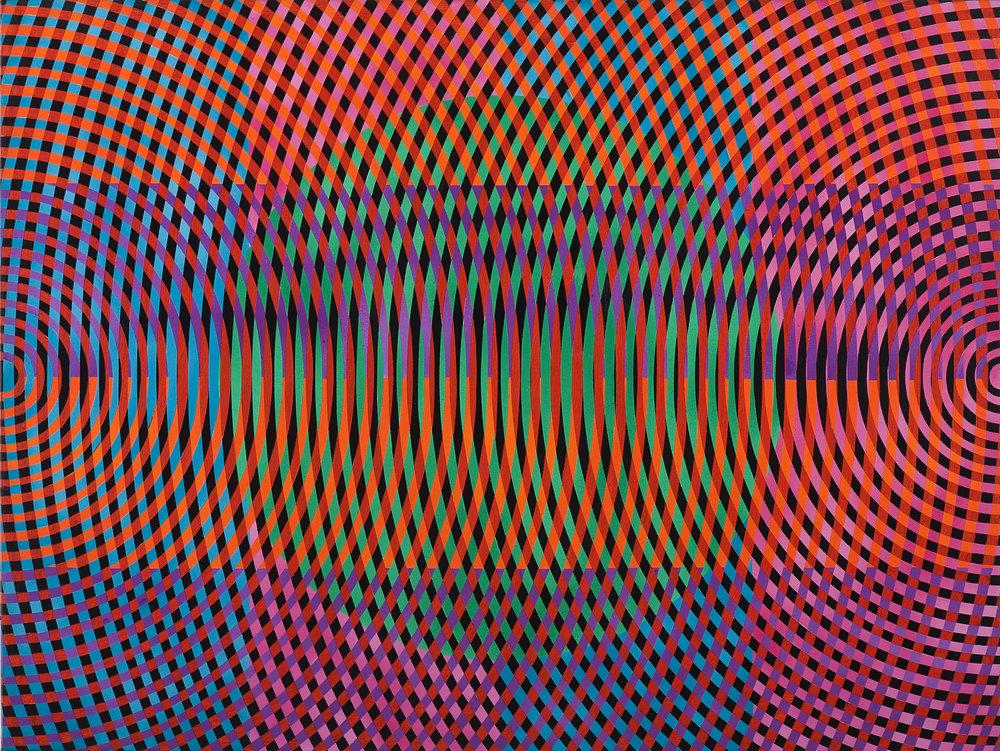 JOHN ASLANIDIS  Sonic no. 29  2012 oil and acrylic on canvas 77 × 102 cm