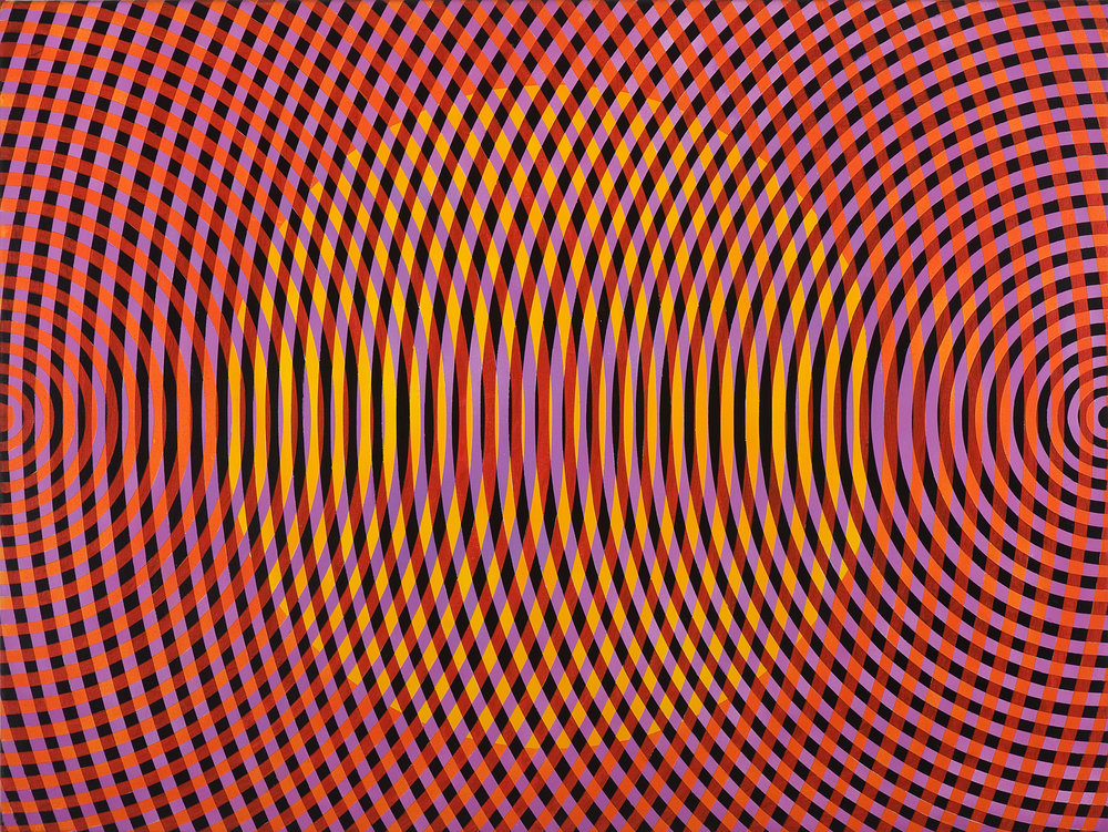 JOHN ASLANIDIS  Sonic no. 33  2013 oil and acrylic on canvas 77 × 102 cm