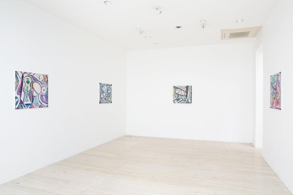Simon Blau, Jelle Van Den Berg, artist, exhibition, Gallery 9