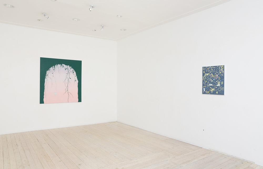 Viv Miller, exhibition view Gallery 9