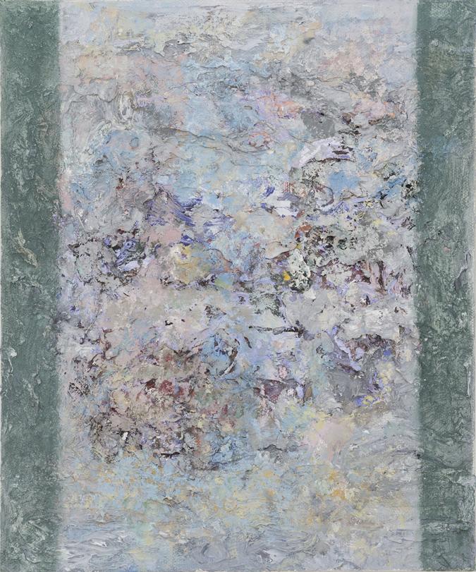 JELLE VAN DEN BERG  Gudo  2016 oil on canvas 30.5 × 25.5 cm