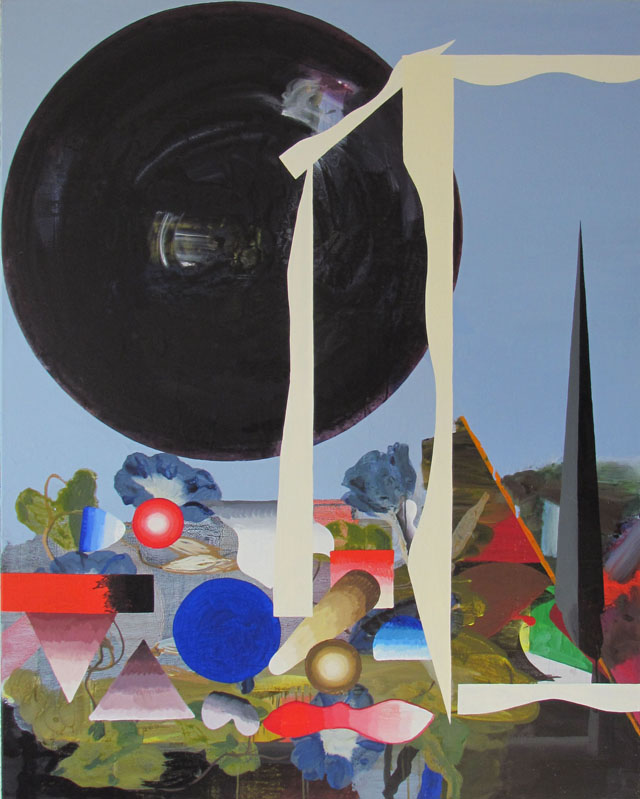 JULIAN HOOPER  Epsom  2013 acrylic on linen 150 × 120 cm