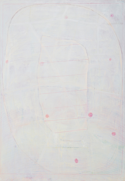 PETER ALWAST  Zero  2013 oil on canvas 198 × 137 cm