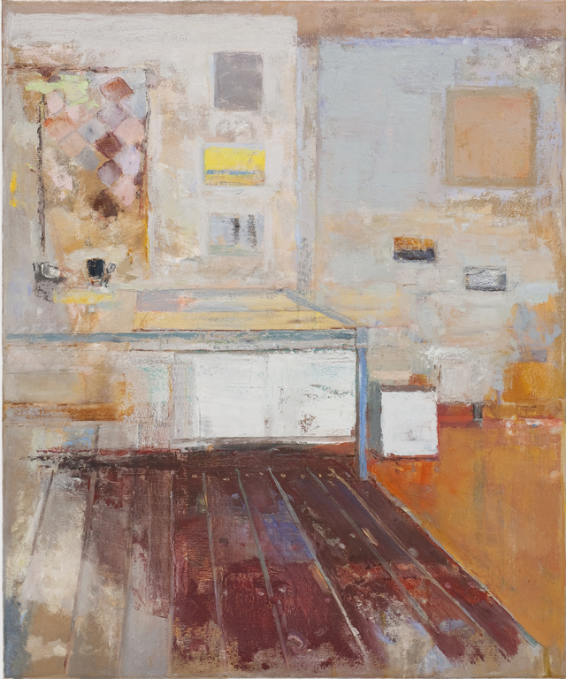 JELLE VAN DEN BERG  Room (Coledale)  2009 oil on canvas 60 × 50 cm