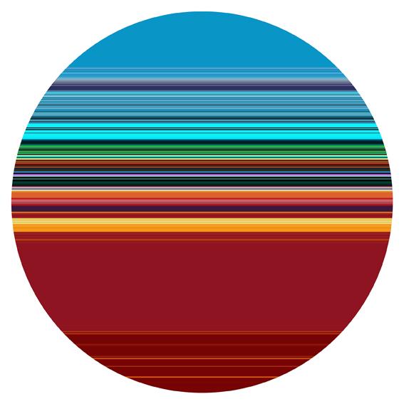 PAUL SNELL  Intersect # 201502  2015 Lambda Print, face-mounted to 6mm plexiglas 118 cm diameter